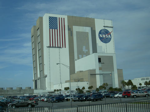 Das NASA Geb�ude in Florida